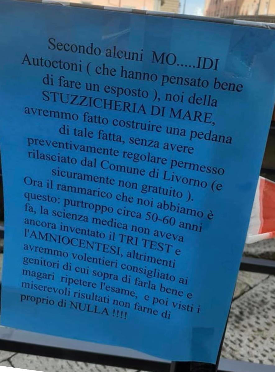 ristorante Livorno disabili